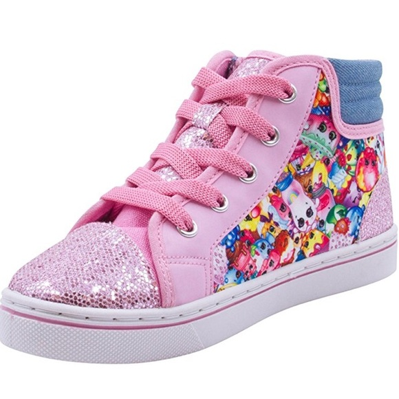 aee973be07016e Shopkins Shoes | Canvas Denim Glitter Sneaker 1 2 | Poshmark